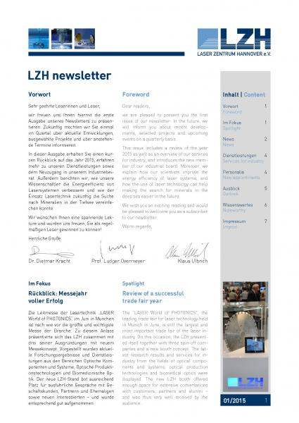 LZH-Newsletter-Download